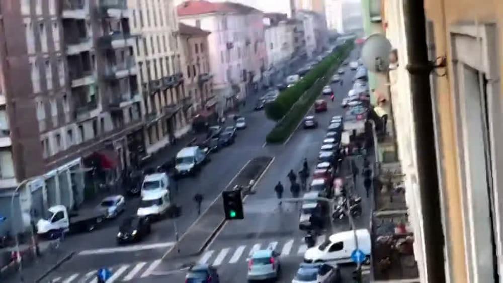 Viale monza milano video
