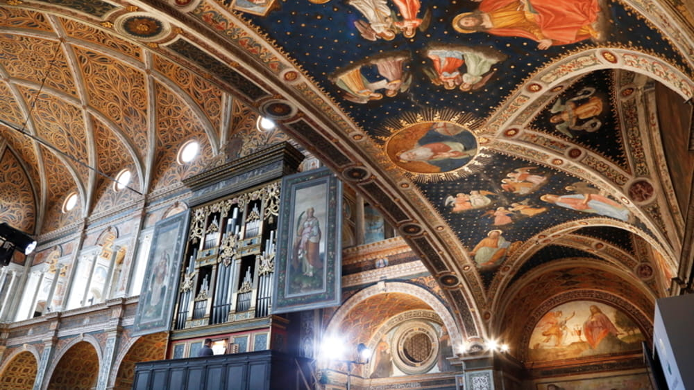 """Il 1° settembre visite guidate gratuite e musica nella """"Cappella Sistina"""" di Milano"""