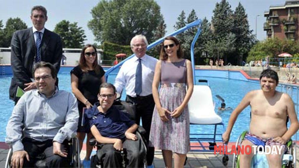 Piscina argelati per disabili for Piscina bollate