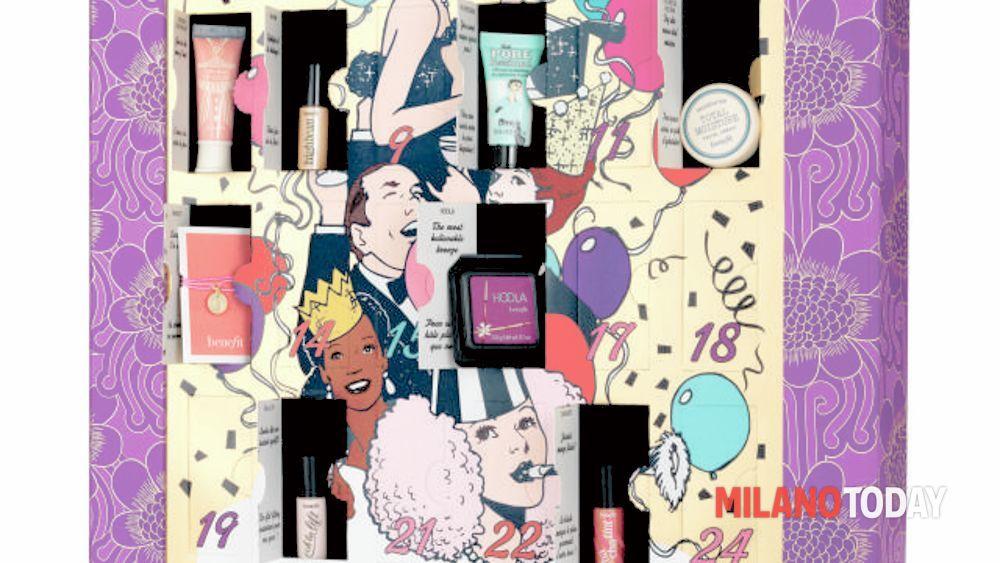Calendario Dellavvento Benefit.Calendario Dell Avvento Di Benefit Cosmetic Countdown To