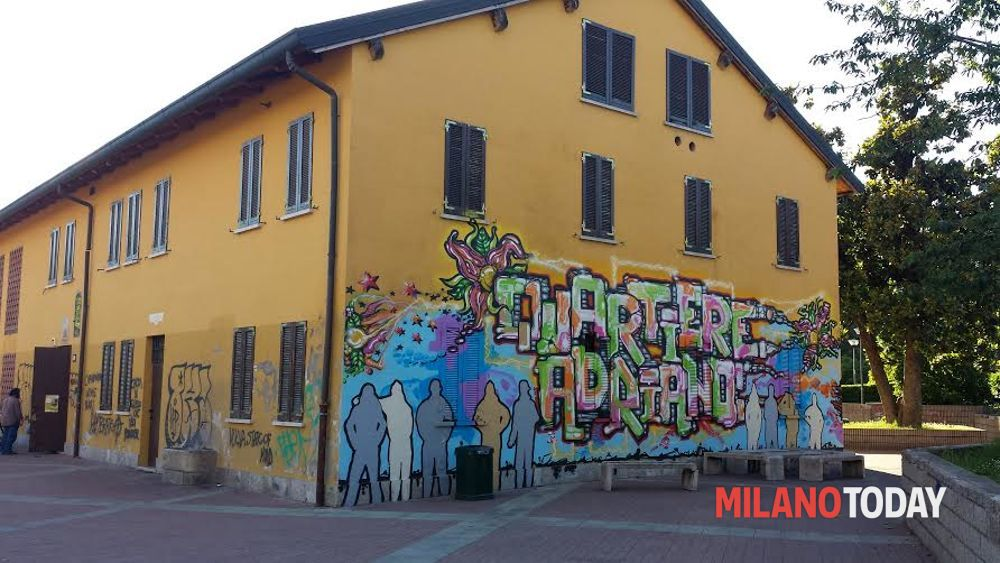 Murales autorizzati in cascina del 39 700 a milano protesta for Ristorante murales milano