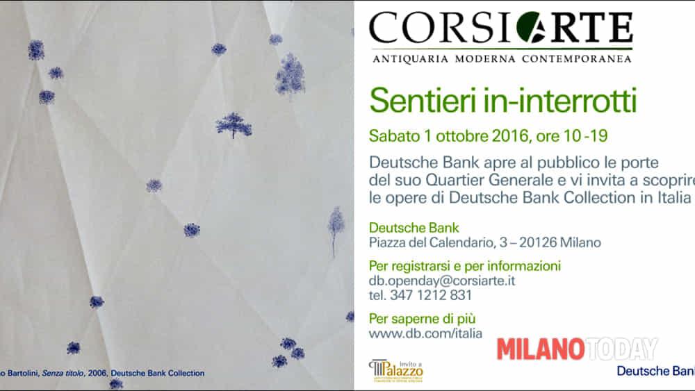 Piazza Del Calendario 3 Milano.Corsiarte Per Deutsche Bank Vieni A Scoprire La Collezione