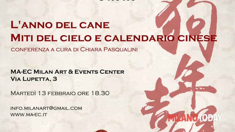 Anno Calendario Cinese.L Anno Del Cane Miti Del Cielo E Calendario Cinese Eventi A