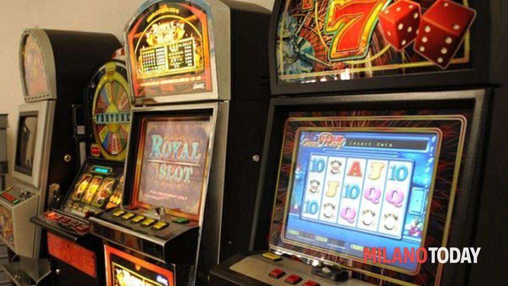 Slot machine nel bar