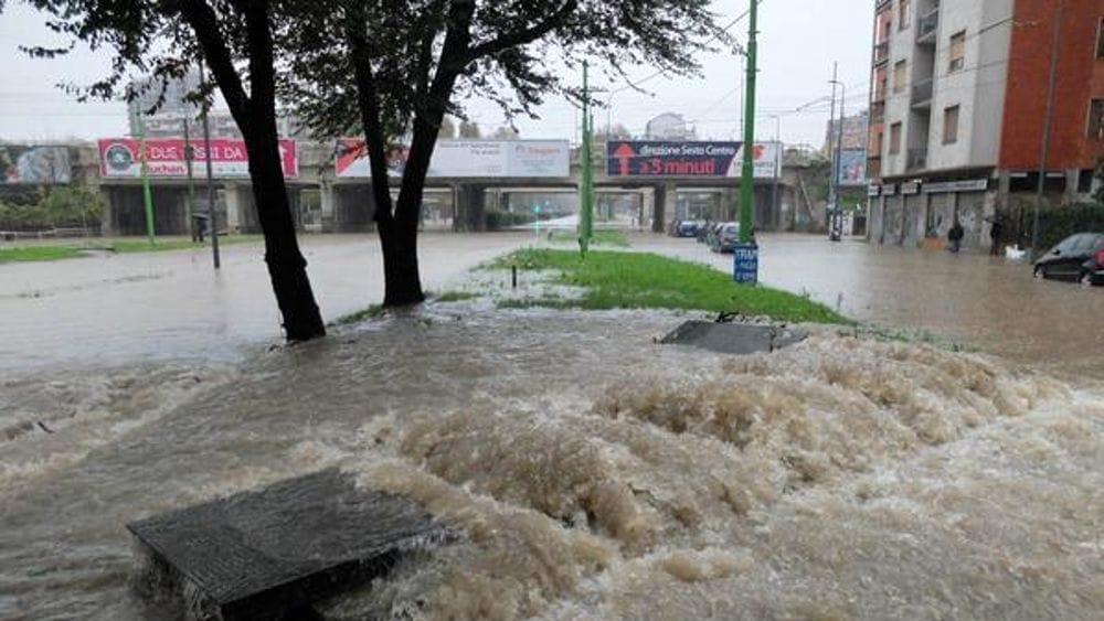"""Forti piogge in arrivo: scatta l'allerta gialla a Milano, Seveso e Lambro a rischio """"piena"""" - MilanoToday"""