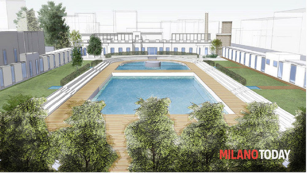Lavori riqualificazione piscina caimi milano for Piscina lainate