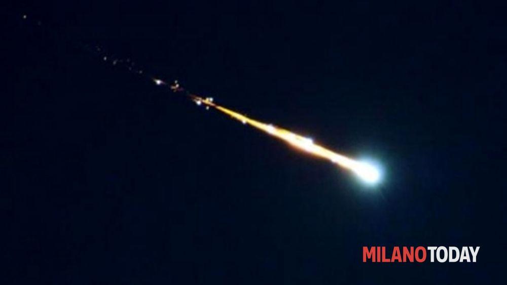 Meteorite sui cieli lombardi avvistamenti a milano for Meteorite milano