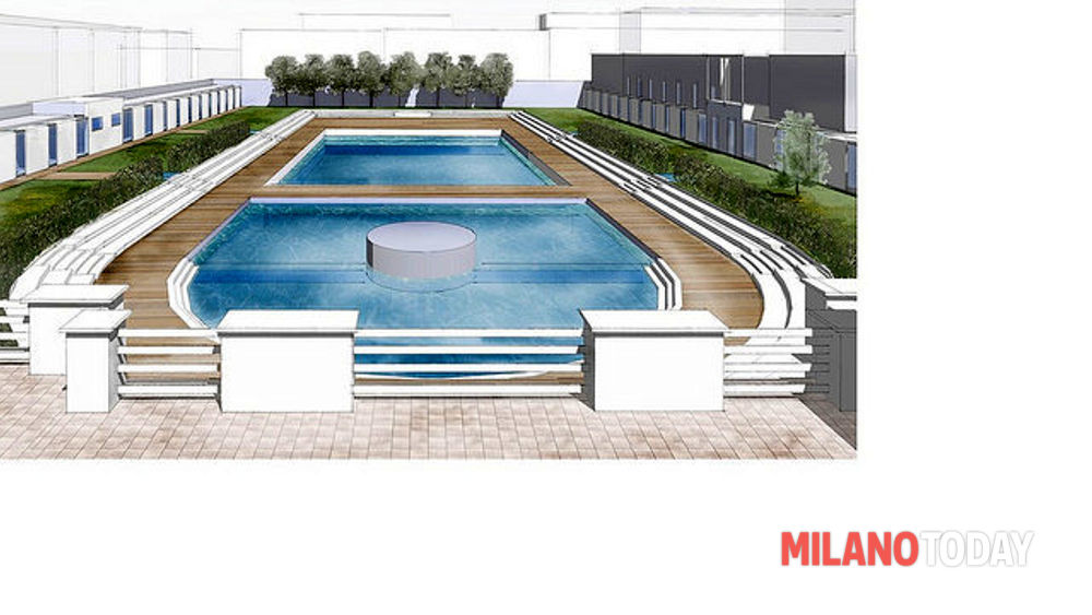 Lavori alla piscina caimi for Piscina lainate
