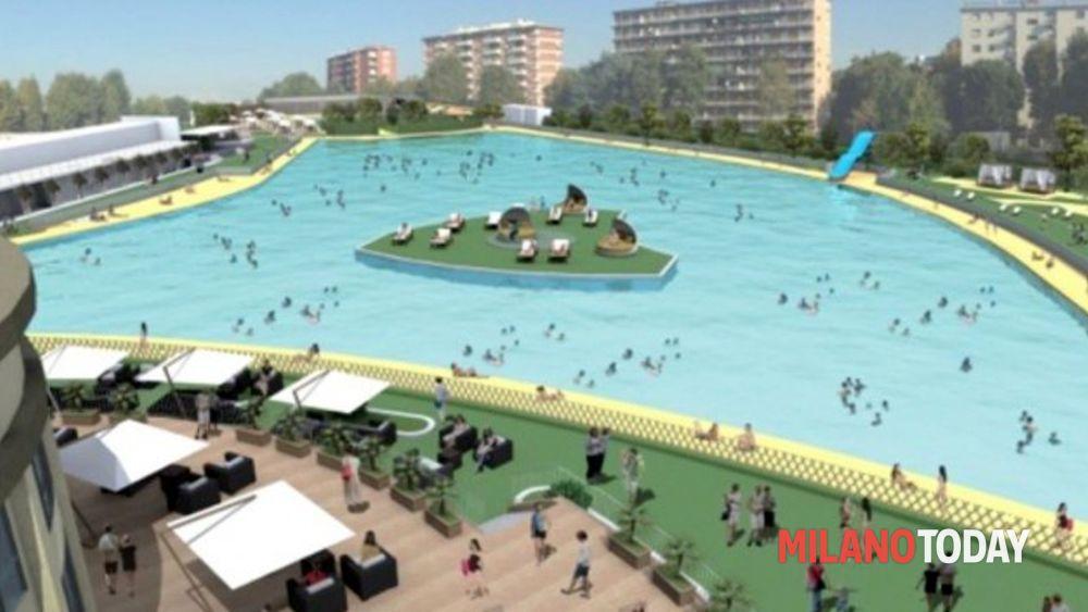 Expo in relax la nuova spiaggia di milano inaugurazione for Piscina bollate